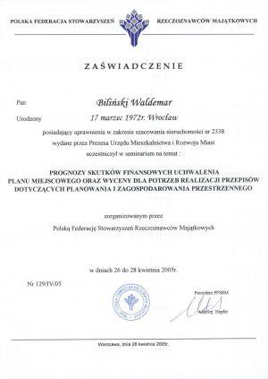 mgr inż. Waldemar Biliński