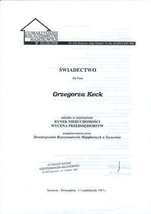 mgr inż. Grzegorz Keck